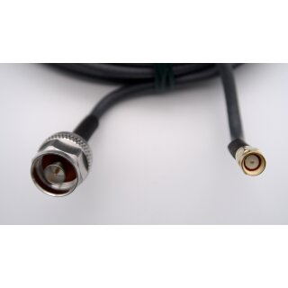 25 Meter Kabel H155 low loss 50 Ohm SMA-Stecker /  N-Stecker